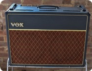 Vox-AC30 Top Boast-1964-Smooth Black