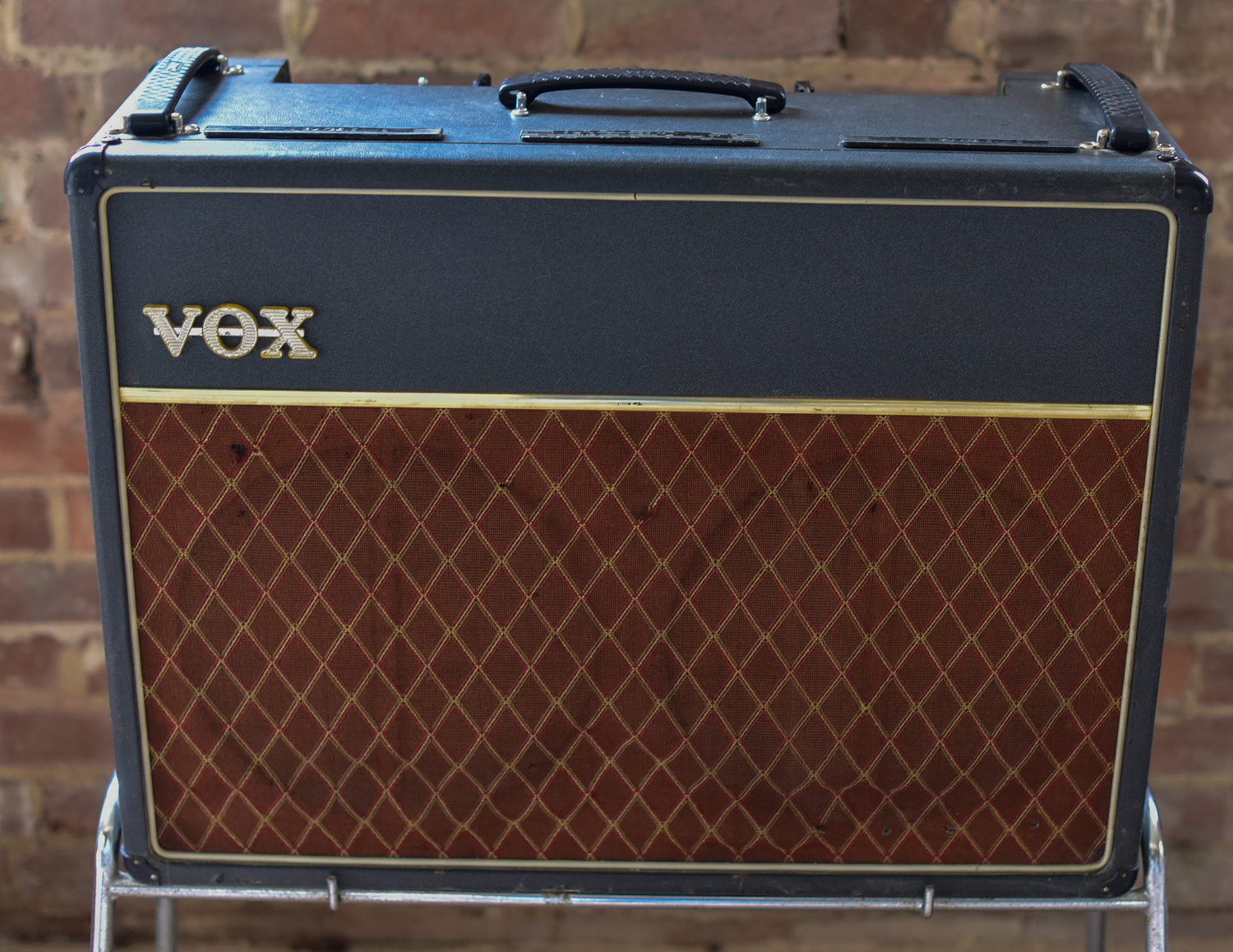 Vox AC30 Top Boast 1964 Smooth Black Amp For Sale