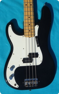 Fender Precision Bass Lefty 1976 Black