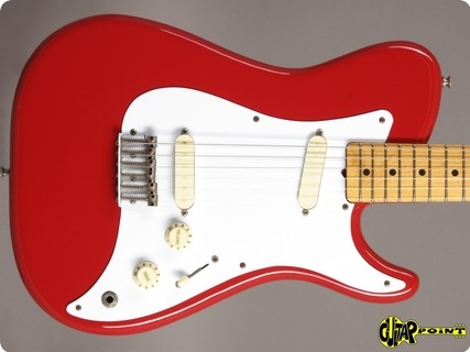 Fender Bullet (made In Usa) 1981 Red