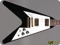Gibson Jimi Hendrix Hall Of Fame Flying V 1992 Black