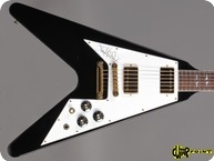 Gibson Jimi Hendrix Hall Of Fame Flying V 1992 Black