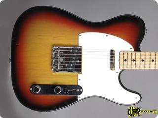 Fender Telecaster 1971 3 Tone Sunburst