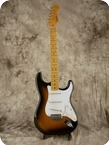 Fender Stratocaster 57 Reissue 1982 Two Tone Sunburst