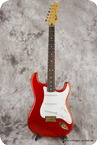 Fender Stratocaster 2014 Sparkling Strawberry Red