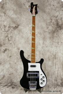 Rickenbacker 4001 Stereo Bass 1976 Black
