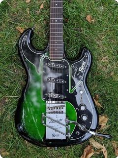 Burns Guitars Hanks Marvin 'vintage Prototype' Model 1990 Greenburst