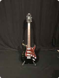 Twang Stratocaster 2010 Black