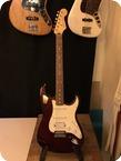 Fender Stratocaster 2004 Midnight Wine Metallic