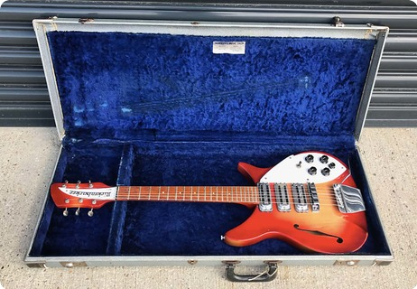 Rickenbacker 1996 Rose Morris Model (325) 1964 Fireglo
