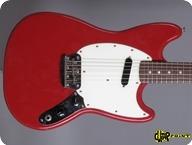 Fender Musicmaster 1975 Red