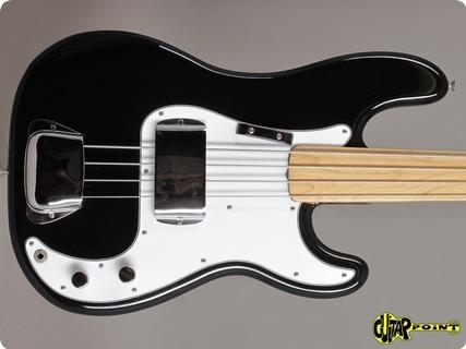 Fender Precision  /  Fretless 1974 Black