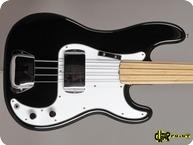 Fender Precision Fretless 1974 Black