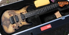 Music Man-810-BE-50-00 Jason Richardson Cutlass 7 -2019-Buckeye Burl