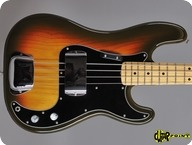 Fender Precision 1979 3 tone Sunburst