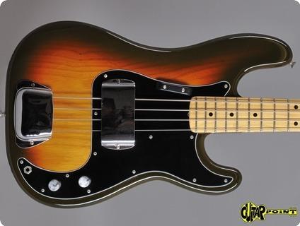 Fender Precision 1979 3 Tone Sunburst