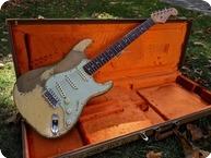 Fender-CUSTOM SHOP DALE WILSON HEAVY RELIC STRATOCASTER-2018-Desert Sand