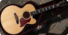 Gibson-J185EC Custom Shop Plekd EVO Gold Frets