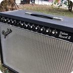 Fender Deluxe Reverb II Paul Rivera Era 1980 Black