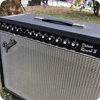 Fender Deluxe Reverb II Paul Rivera Era 1980 Black