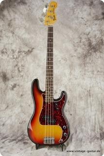 Fender Precision Bass 1973 Sunburst