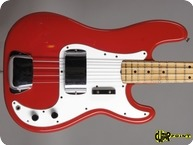 Fender Precision 1980 Morocco Red