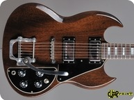 Gibson-SG Deluxe-1971-Walnut