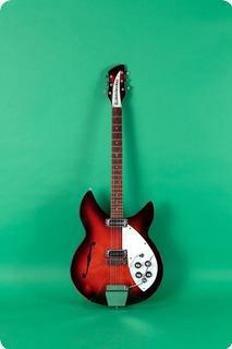 Rickenbacker Model 1997 Rose Morris 1966 Dark Red Sunburst