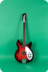 Rickenbacker Model 1997 Rose Morris 1966 Dark Red Sunburst