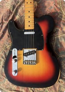 Fender Telecaster Lefty 1978 Sunburst