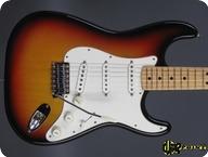 Fender Stratocaster 1973 3 tone Sunburst