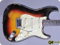 Fender Stratocaster 1961 3 tone Sunburst