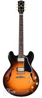 Gibson Es335 Reissue Vos Historic Burst 2018 Near Mint 1961
