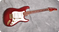 Fender Stratocaster 1980 Candy Apple Red