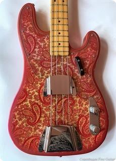 Fender Precision Bass  1968 Paisley