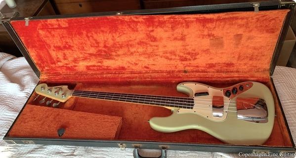Fender Jazz Bass 1965 Sonic Blue