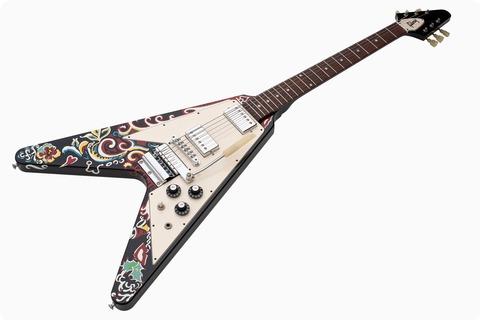 Gibson Flying V 2006 Psychedelic