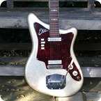Eko 500 V2 Ekomaster 1963 Silver Sparkle