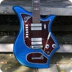 Eko 500 V4 Ekomaster 1964 Blue Sparkle