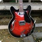 Crucianelli Elite Semi Acoustic 1970 Cherry Burst