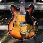 Crucianelli Elite Semi Acoustic 1970 Sunburst