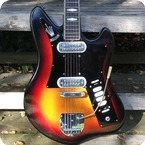 Welson Solid 2V Made In Italy 1963 Sunburst
