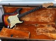 Fender-Stratocaster-1961-3 Tone Sunburst
