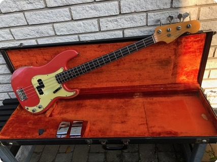 Fender Precision Bass 1964 Fiesta Red