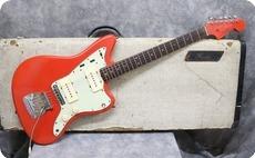 Fender-Jazzmaster-1963-Fiesta Red Refinish