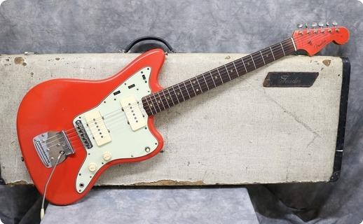 Fender Jazzmaster 1963 Fiesta Red Refinish