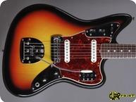 Fender Jaguar 1965 3 tone Sunburst