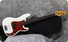 Fender Precision 1963 Olympic White Refinish