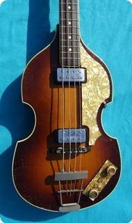 Hofner 500/1  Violin Bass 1965 Violin Sunburst