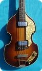 Hofner 5001 Violin Bass 1965 Violin Sunburst